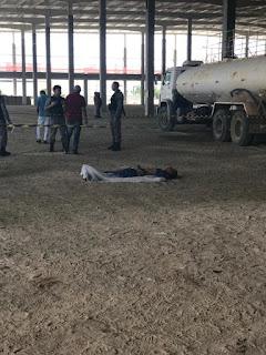 Operário morre e dois ficam feridos após barreira desmoronar em obra na BR-230