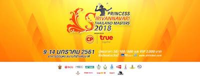 hasil thailand masters 2018
