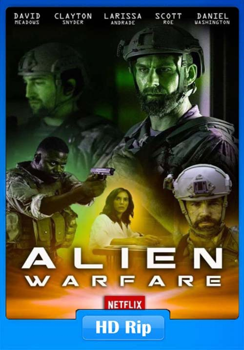 Alien Warfare 2019 English 720p HDRip x264 | 480p 300MB | 100MB HEVC Poster