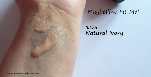 Maybelline Fit Me odcień natural ivory