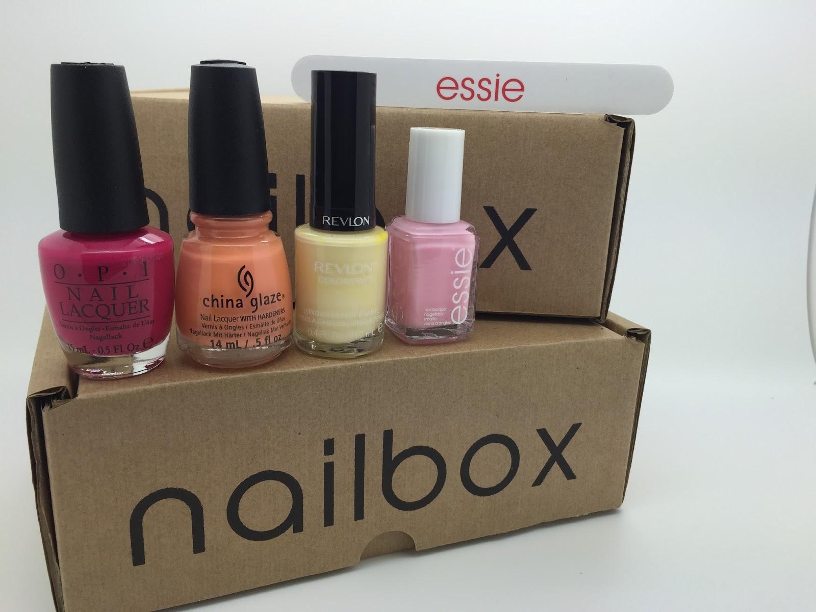 Nail box and Contents April 2015