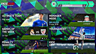FIFA 14 MOD PES 2018 V.1.2 Android Offline New Mini Kits