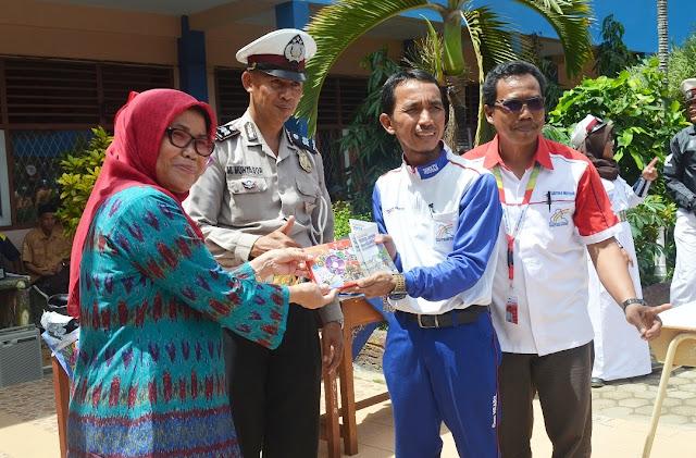 SMKN 1 Palembang Sekolah Binaan Safety Riding Honda