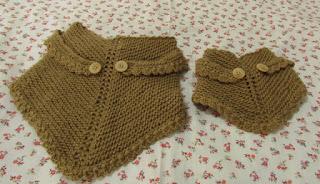 Lenço em trico