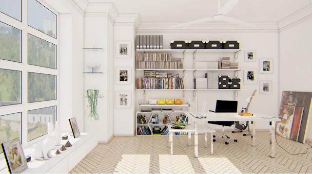 Çalışma Odası Dekorasyonu Nasıl Olmalı