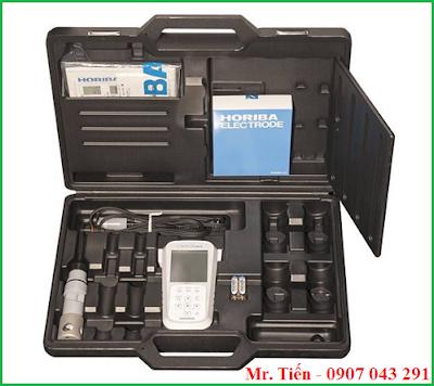 Cung cấp bao gồm của máy đo Oxy trong nước LAQUAact DO 110 Horiba