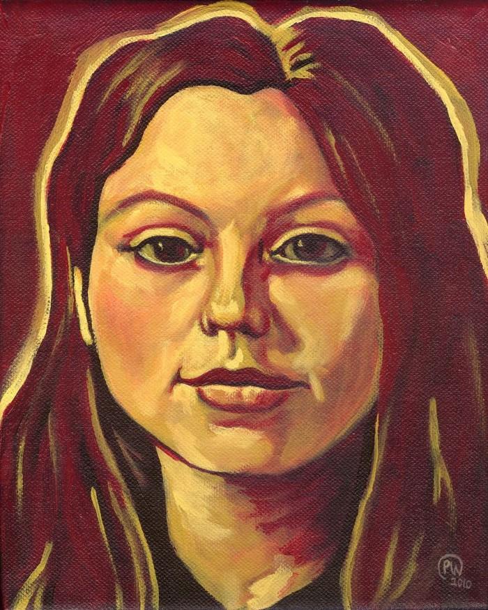 Канадский художник. Paige Wallis