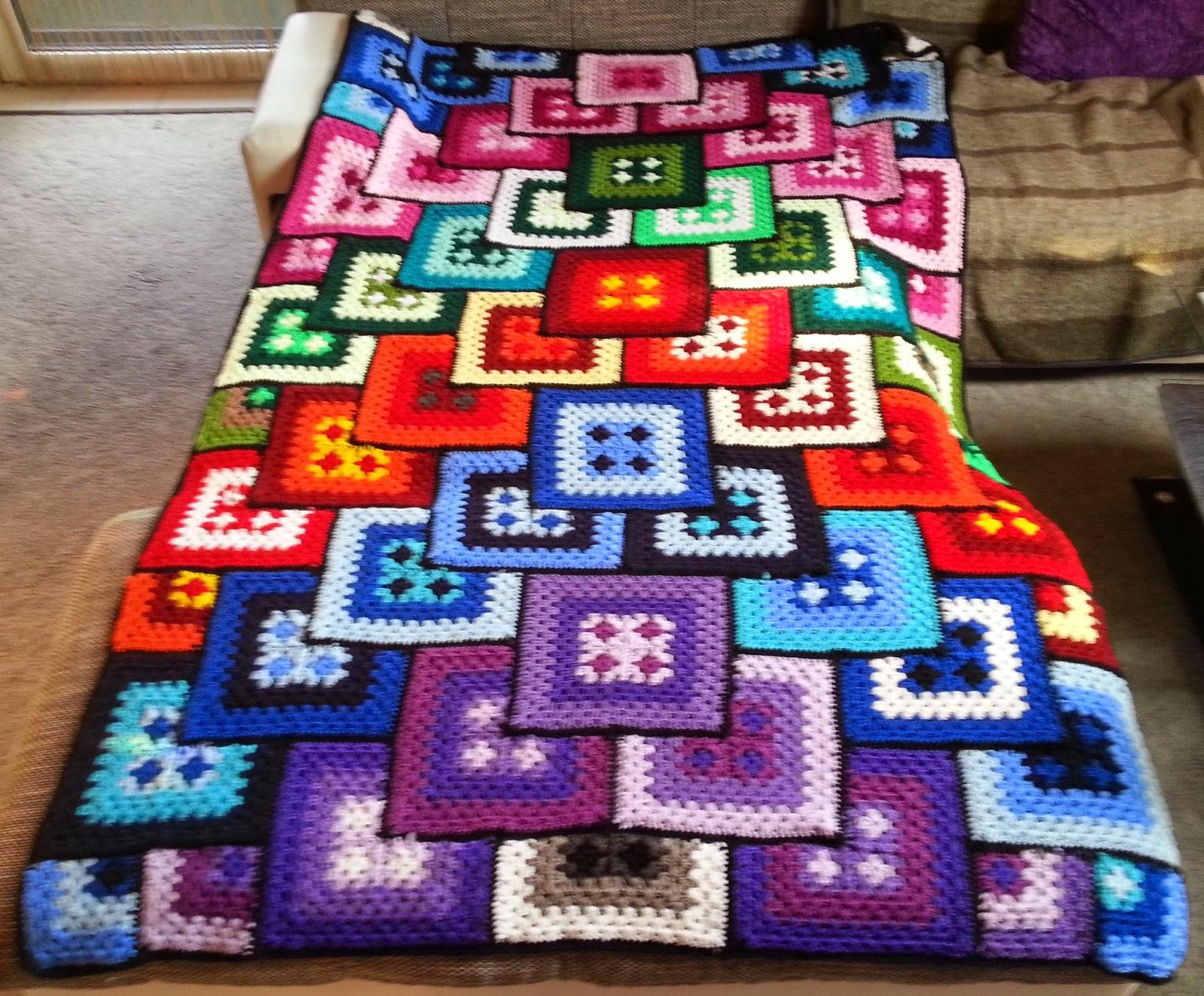 H kelfieber austria patchwork granny decke - Patchwork modele gratuit dessus de lit ...
