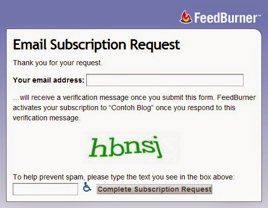 Aktifkan Email Subscriptions