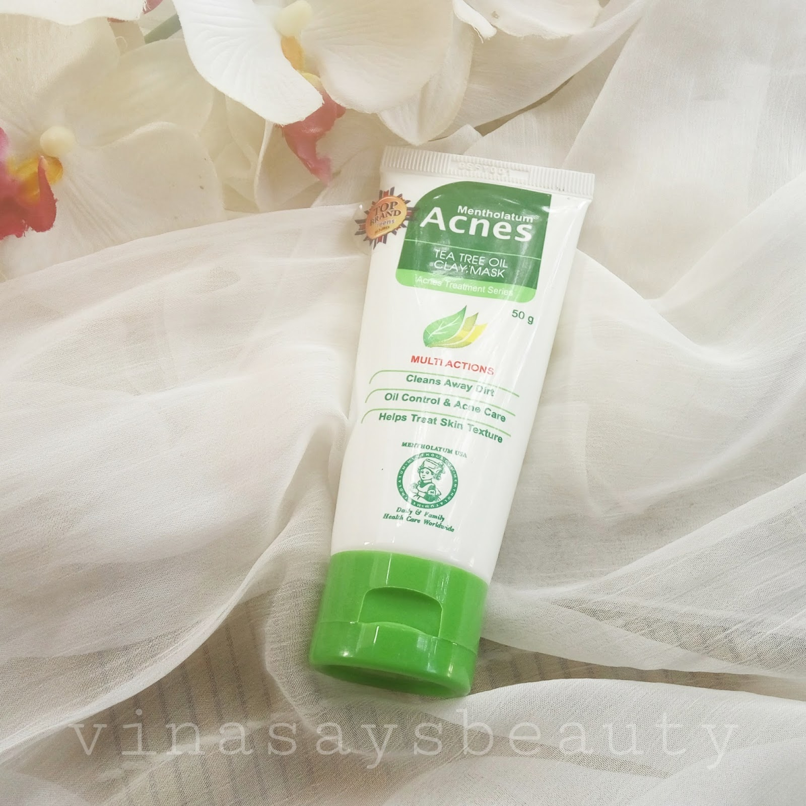 Review Acnes Tea Tree Oil Clay Mask Vina Says Beauty