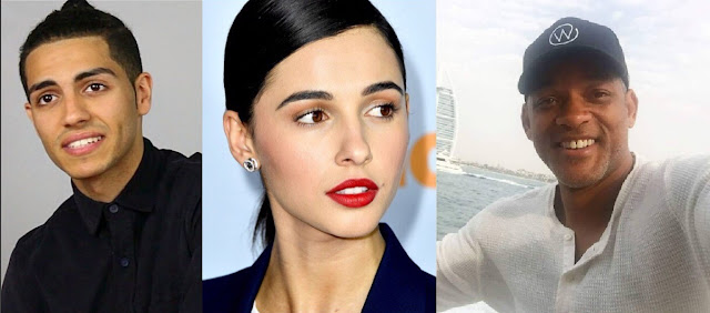 Mena Massoud, Naomi Scott and Will Smith confirmed to be in remake of Aaladin