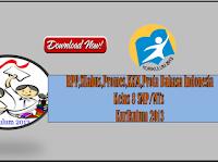 RPP Silabus Promes Prota Bahasa Indonesia Kurikulum 2013 Kelas 7 dan 8 SMP
