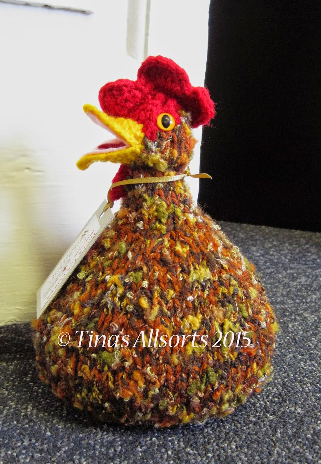 Tina's Allsorts Chicken Doorstop
