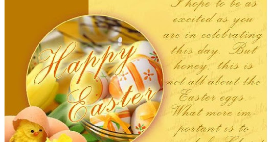 Share best Easter 2016 cards on your social walls like Fb, google+, whatsapp