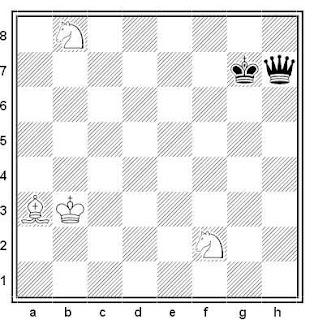 Estudio artístico de G. M. Kasparian (2ª Mención de Honor, Schajmatna Misl 1958)
