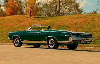 1967 Pontiac LeMans GTO Convertible Rear Left