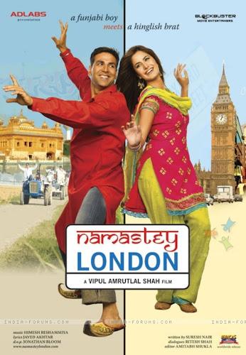 Namastey London (2007) Movie Poster