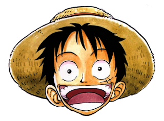 Head Luffy One Piece PNG