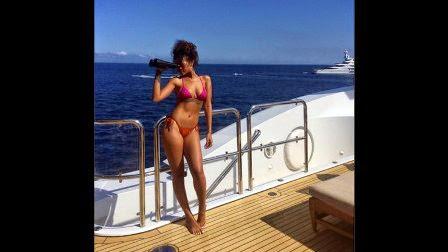Las fotos hot de Rihanna para sus fans en Twitter