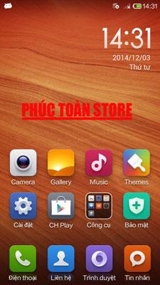 Tiếng Việt Và CH Play Xiaomi mi4 done alt