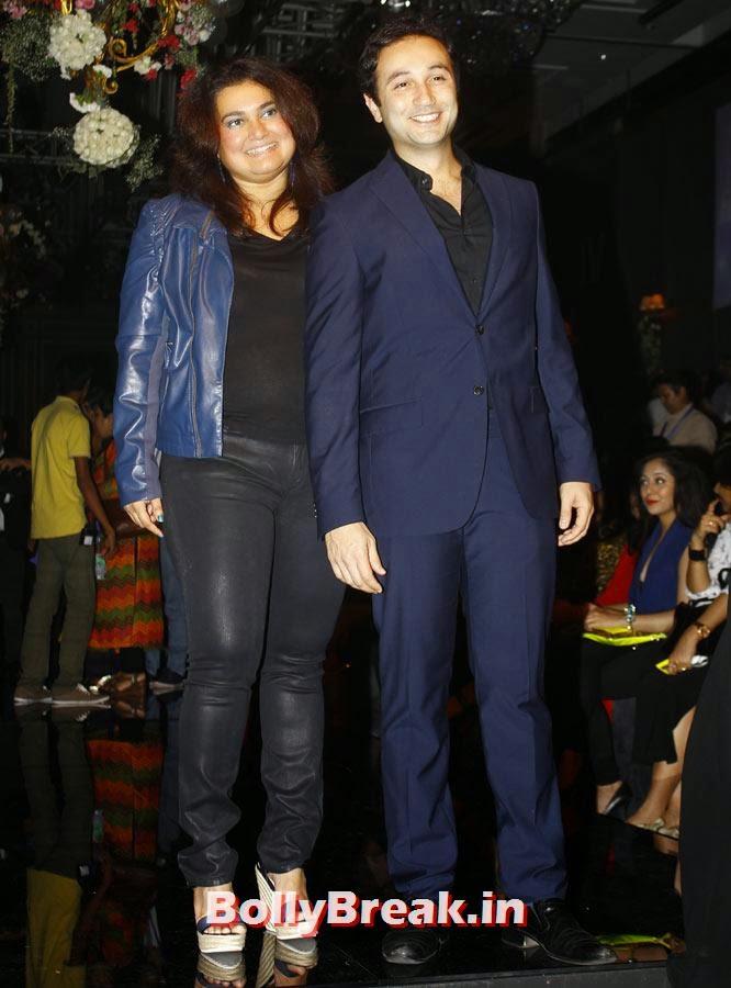 Divya Palat and Aditya Hitkari, LFW 2014 Pics  - Lakme Fashion Week 2014 Photo Gallery