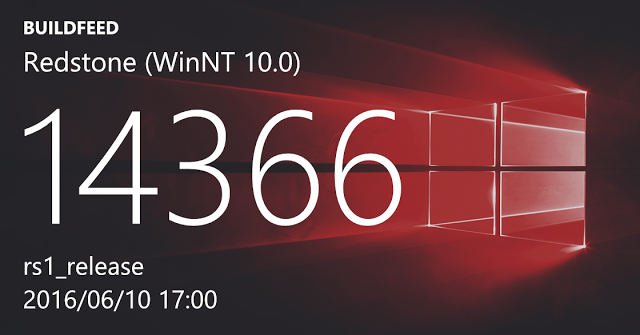 Microsoft phát hành bản ISO cho Windows 10 Preview build 14366