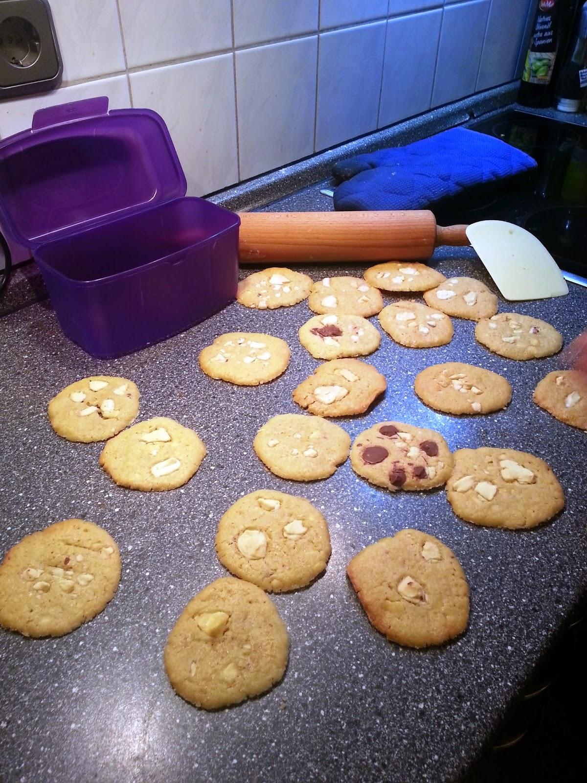 carpe culina in der weihnachtsb ckerei american cookies. Black Bedroom Furniture Sets. Home Design Ideas