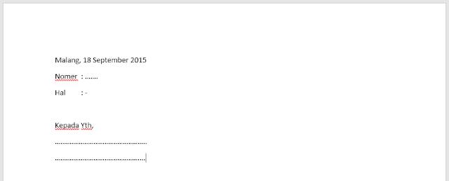 Cara Mudah Membuat Surat Massal Dengan Microsoft Office Word