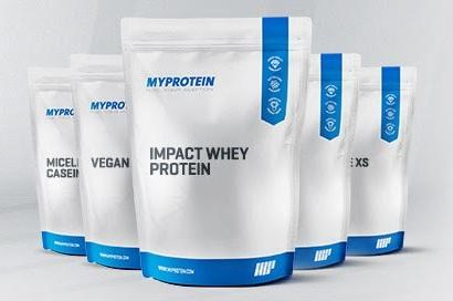 Bolsas de proteínas de myprotein