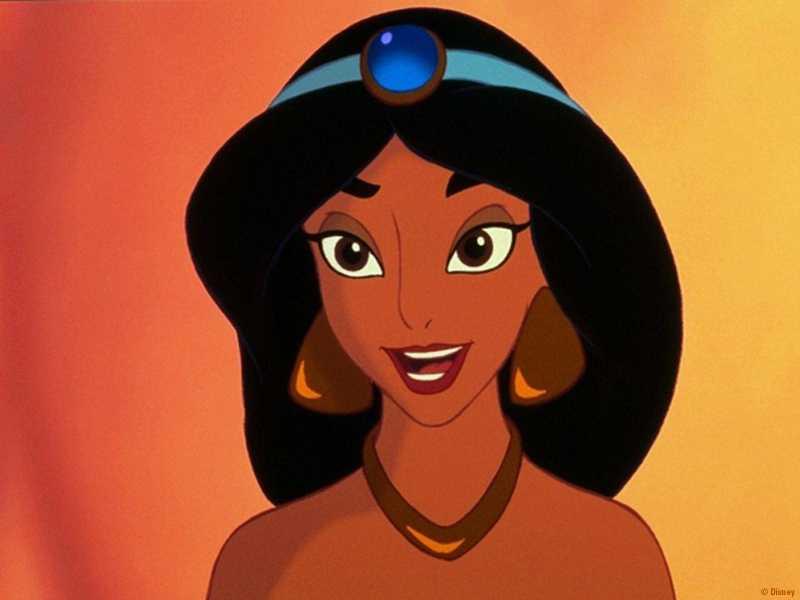 Imagenes De Dibujos Animados Jasmine Aladdin