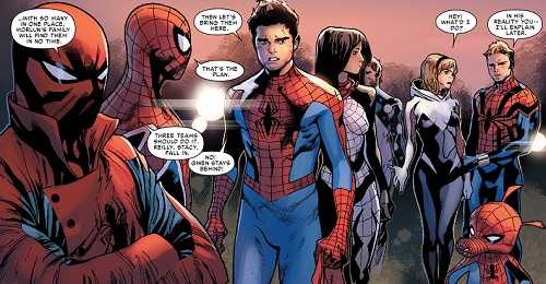 Assassin spider man comic