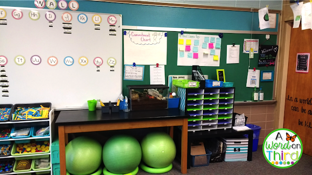 A Word On Third's 2017-2018 Classroom Reveal
