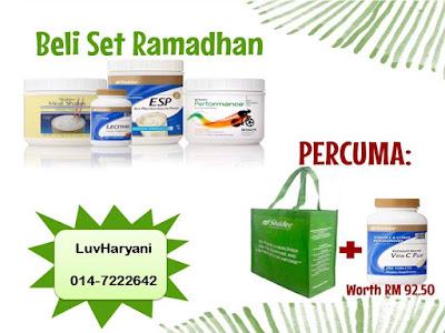 Promosi Hebat Shaklee : Set Ramadhan
