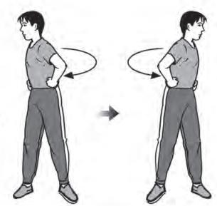 Latihan kelentukan otot pinggang : Kebugaran Jasmani