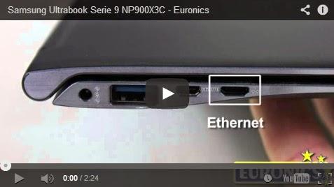 angeloweb video samsung ultrabook serie 9 np900x3c. Black Bedroom Furniture Sets. Home Design Ideas