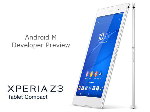 How To ROOT Sony Xperia Z3 Tablet Compact SGP612 on Android 6.0.1