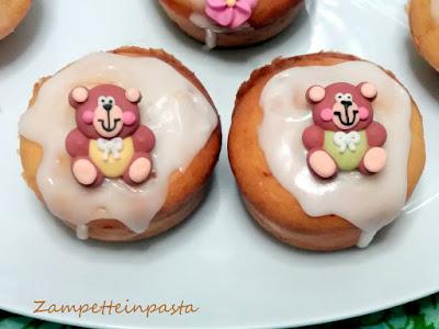 Muffin di albumi e yogurt con glassa al limone - Ricetta con albumi