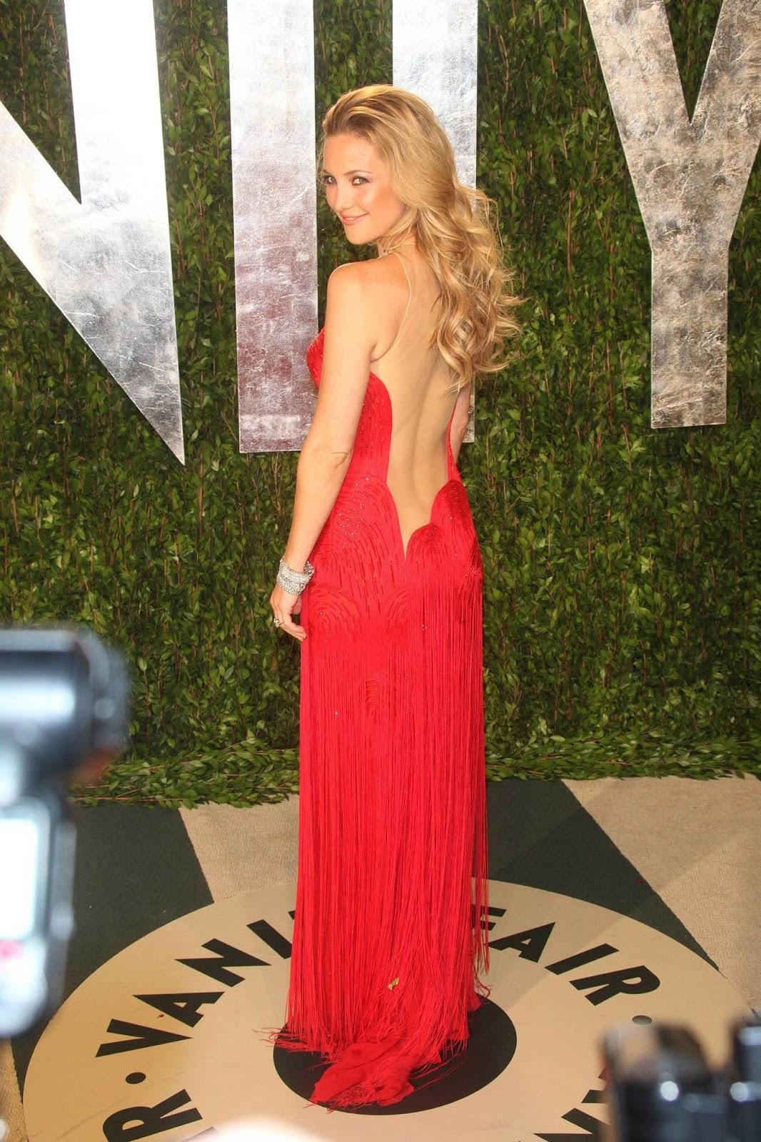 Kate Hudson at 2012 Vanity Fair Oscar Party at Sunset Tower 12