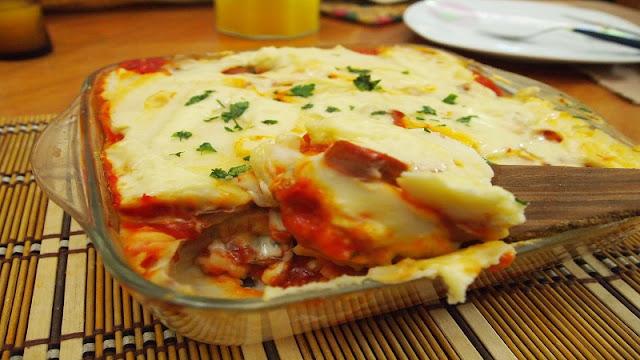 Salsichas com Purê de Batatas ao Forno (Imagem: Reprodução/3 BP Blogspot)
