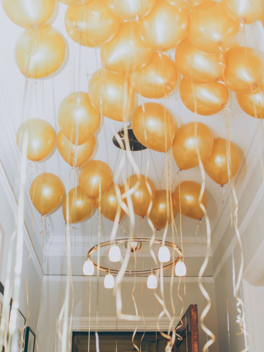 Tatamba blog de decoraci n c mo decorar con globos un for Decoracion para aniversario
