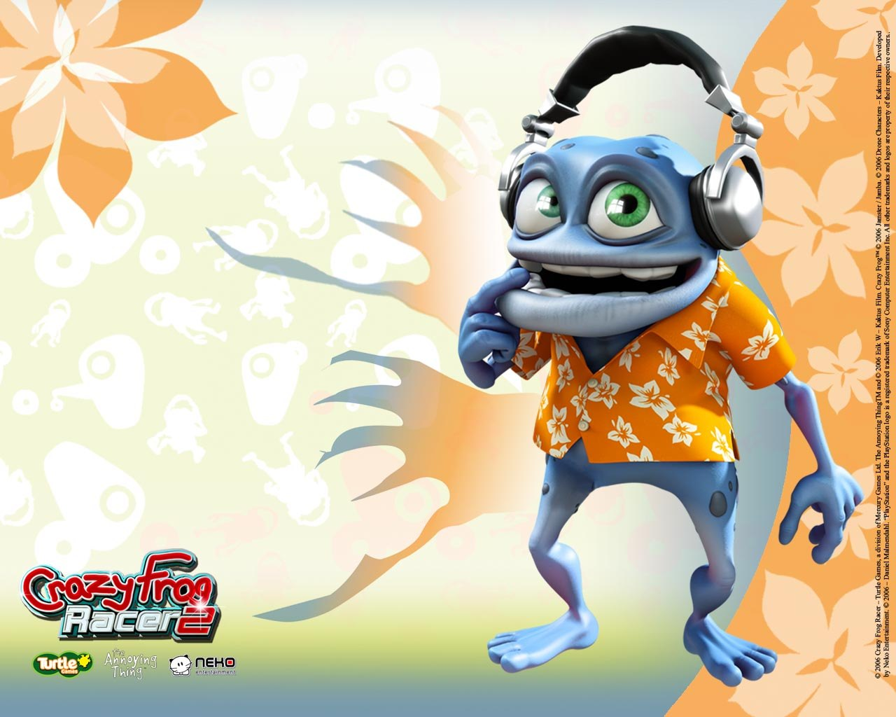 Background Collections: crazy frog wallpaper