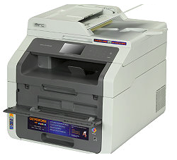 It lets you fax either coming from your pc  Download Brother MFC-913+0CW Driver