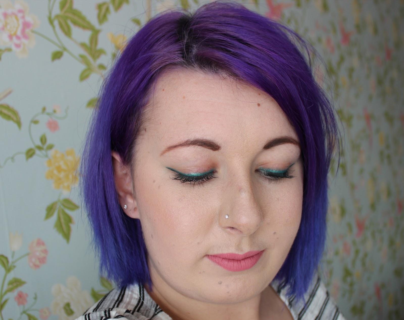 mac minted eye kohl beauty blog