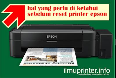 penyebab kasus mati total setelah reset printer