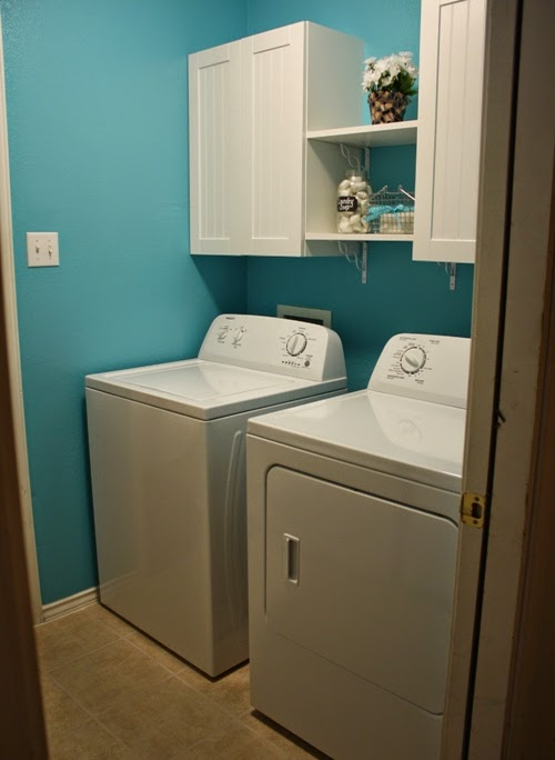 Laundry room renovation diy home improvement before and for Laundry room renovation