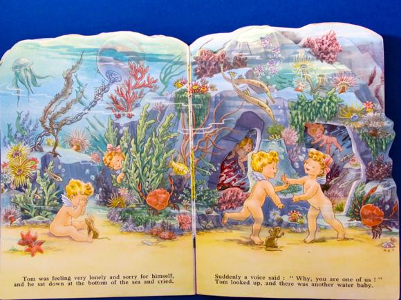 Kiddie Kut Books Molly B. Thomson The Water Babies