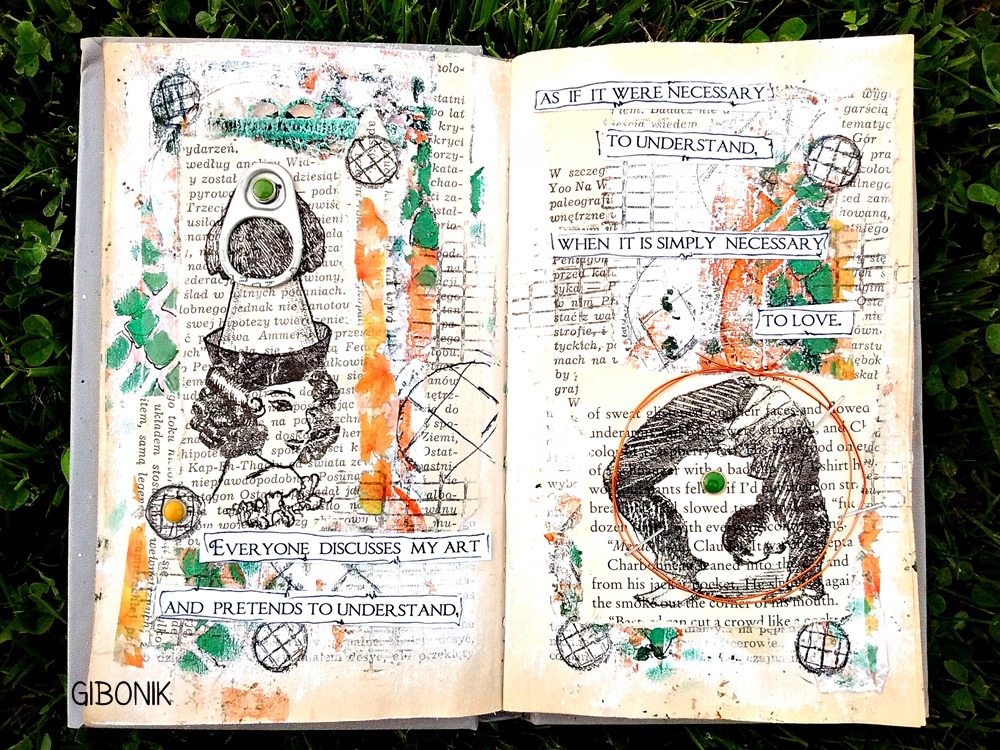 ART JOURNAL - WYZWANIE NR 4.