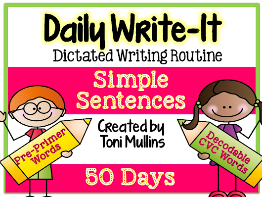 Daily Write-It: Dictated Writing Routine