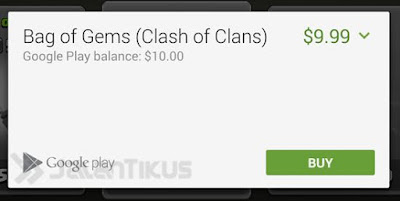 Tutorial lengkap cara mendapatkan gems gratis game clash of clans dengan benar