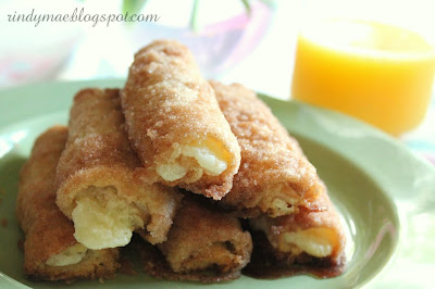 Rindy Mae Cinnamon Cream Cheese Roll Ups